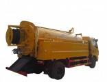 High Pressure Jetting Combined Sewer Truck 3cbm Vacuum Sewage Tank 1cbm Jetting Water Tank Rhd or LH