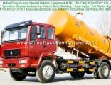 HOWO 10-12 Cbm Vacuum Suction Sewage Tanker Truck