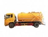 Septic Tank Truck Vacuum Sewage Suction Pump, VAC Tanker Capacity 10cbm Rhd. LHD 4X4.4X2