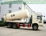 HOWO 15~20 Cbm Vacuum Suction Sewage Tanker Truck for Un