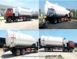 18000L Vacuum Sewage Tanker Truck with High Pressure VAC Pump Battioni Pagani Mec 13500 Vacuum Pumps