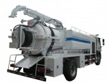 Foton Sewer High Pressure Jetting Combined Vacuum Pump Suction Truck (10m3 -12 m3 Right Hand Drive E