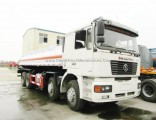 Euro 3, Euro 4 Shacman 8X4 F2000 /F3000 Fuel Tanker for Sale