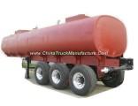 Tri Axles Hydrofluoric Acid Tanker Trailer (Hydrochloride Acid HCl 35% Tank Capacity 33, 000L Muriat