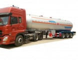 3 Axkes Liquid Ammonia Tank Trailer Pressure 2.49MPa Tank Volume 46000liters, Loading 23920K (NH3 An