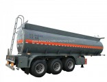 3 Axles Acid Tank Trailer for Sodium Hypochlorite Transport 29cbm Bleach
