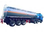 Hydrochloride Acid Tank Trailer 30t Solusion Hydrogen Chlorate, Sodium Hydroxide, Acrylic, Acetic Ac
