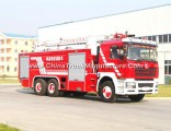 Shacman Fire Truck High Platform 18m High Jetting Water Tank Fire Truck