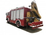Emergency Rescue Fire vehicle Truck Mounted with Crane (6.3t LHD/Rhd 4X4 off Road Optional)
