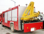 Dongfeng 4X2 Rescue Fire Truck with Crane 5t Sale