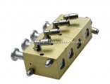 Pneumatic Switch Controller (Fuel Tank Truck Aluminum Pneumatic Control Block Push Button For 2 -6 C