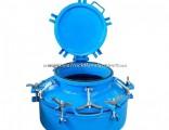 Hot Asphalt Moving Tank Manhole Cover Customizing