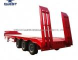 3axle Drop Deck Trailer Heavy Duty Low Bed Truck Trailer Lowbed