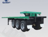 40FT 20FT 50tons Shipping Container Flatbed Semi Truck Trailer