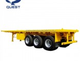 Quest 3 Axle Container Flatbed Semi-Trailer