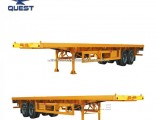 Quest 3 Axles 40FT Container  Trailer  Flat Bed Truck  Trailer