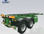 20FT 40FT Container Semi Trailer Skeleton Chassis with Container Lock