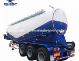 3 Axles 42cbm Cement Silo Trailer Cement Bulker Tank Semi Trailer