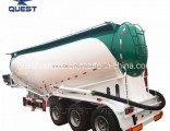 Quest 50ton Bulk Cement Tank Trailer Truck Trailer