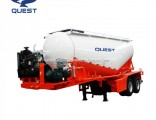 2 Axles 20cbm Fly Ash Powder Bulk Cement Tanker Semi Trailers