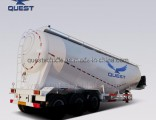 55cbm 70 Tons Bulk Cement Tanker Cement Silo Semi Trailer