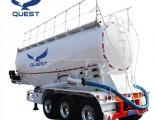 3 Axle Bulk Cement Tank Fly Ash Flour Tanker Truck Semi Trailer
