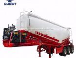 55cbm V Shape Bulk Cement Tank Tanker Utility Truck Trailer