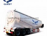 Tri-Axle 50t Bulk Cement Tank Trailer Powder Trailer for Sale