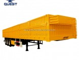 Tri Axle 50ton 40FT High Bed Side Wall Semi Trailer