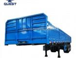 Manufacturer Side Wall Truck Trailer Drop Side Insulated Cargo Trailer
