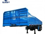 Store Sale 40feet Side Wall Flatbed Trailer Cargo Truck Trailer