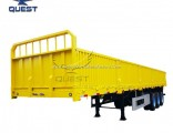 40FT Widely Used Dropside 3 Axles Cargo Truck Semi Trailer