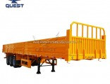 40FT Utility 3 Axle Cargo Container Side Panel Semi Truck Trailer