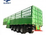 45FT 80tons Stake Cargo Fence Container Carrying Semi Truck Trailer