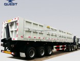 New Suger Cane Side Dump Trailer Tri-Axle Side Tipper Trailer
