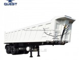 Tandem Axle Bogie Suspension 32m3 End Tipper Semi Trailer