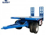 40 Tons Drawbar Low Bed Trailer, Full Trailer
