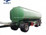 20000 Liters Drawbar Fuel Tanker Trailer, Oil Tanker Full Trailer