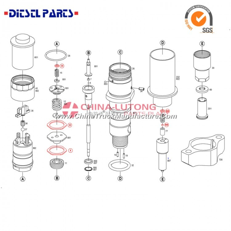 caterpillar injector manufacturers 0 445 120 121 diesel injectors for cummins