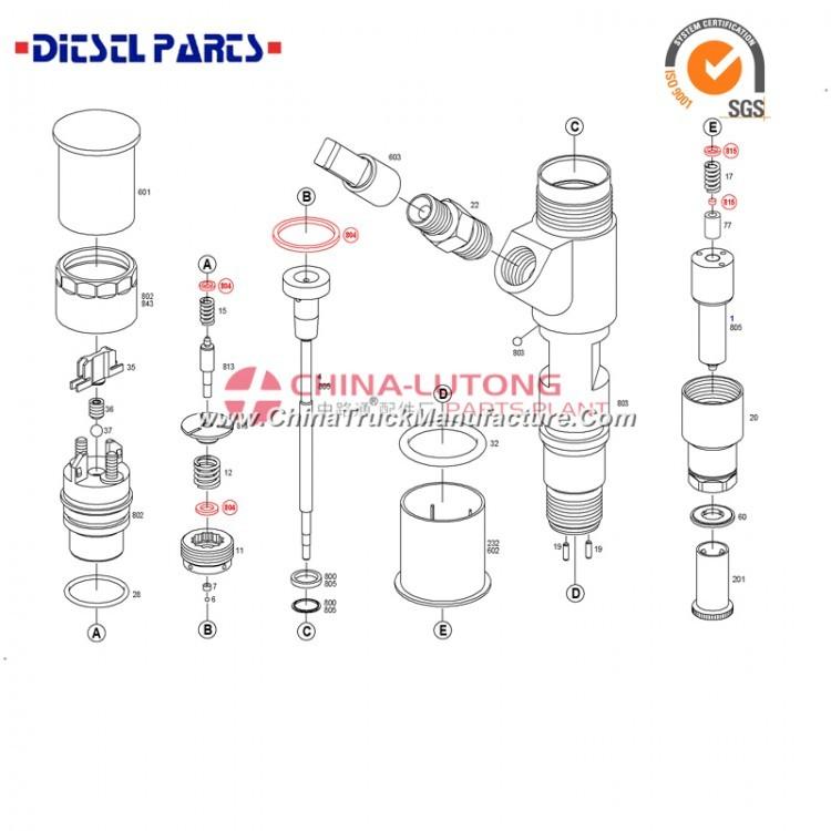caterpillar injectors for sale 0 445 120 134 diesel truck fuel injectors