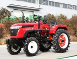 Waw Agricultural Chinese 4 Wheel 35HP Waw Tractor for Sale