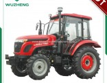 Agricultural Chinese Waw 55HP 4WD Tractor with Cabin
