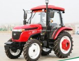 Chinese Waw Farm 55HP 4WD Tractor with Cabin for Sale