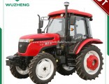 Chinese Farm 55HP 4WD Tractor with Cabin for Sale