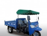 Open Cargo Diesel 3-Wheel Tricycle with Motor From China