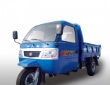 Diesel Motorized Cabin 3-Wheel Cargo/Passenger Tricycle
