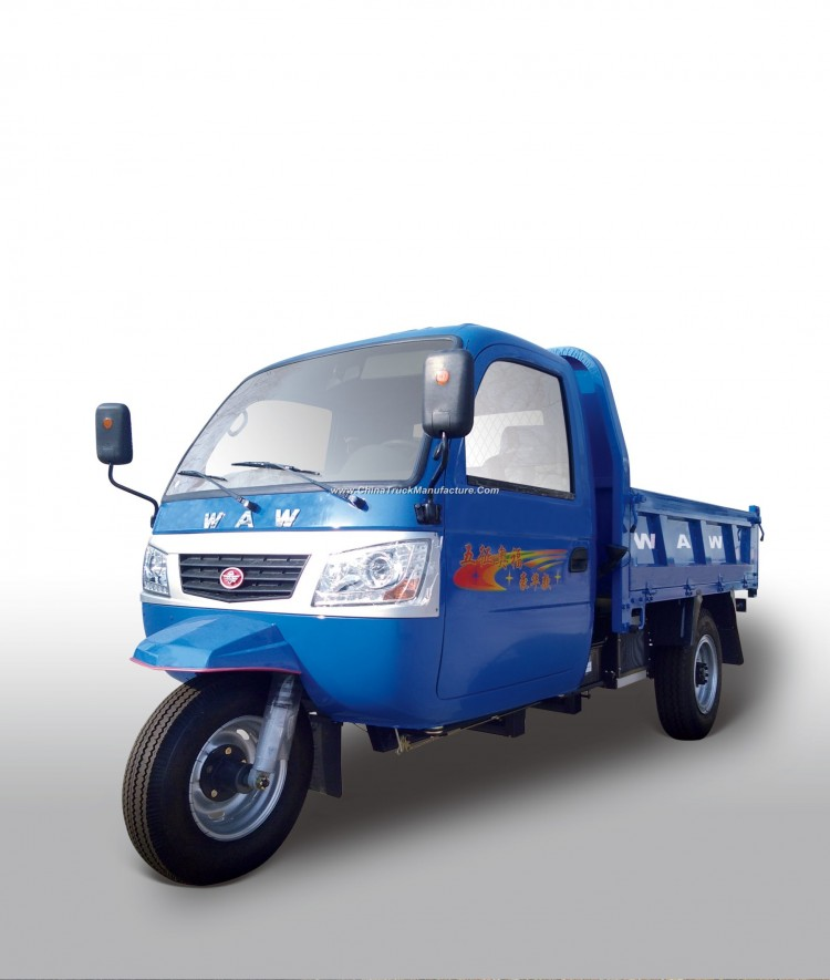 Diesel Closed Motorized Cabin 3-Wheel Tricycle