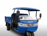 Chinese Waw Open Cargo Diesel Motorized3-Wheel Tricycle
