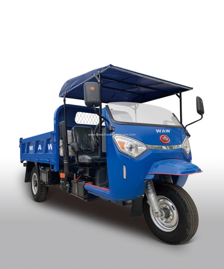 Waw Diesel Tricyclediesel Dump Right Hand Drive Tricycle