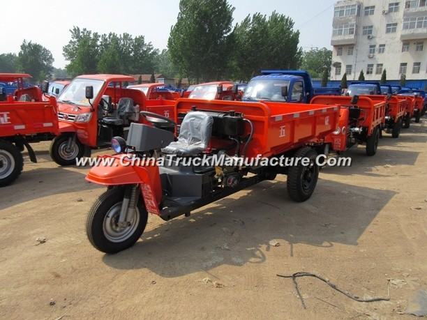Chinese Waw Cargo Diesel Open 3-Wheel Tricycle